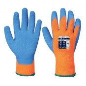 Portwest Thermal Orange and Blue Grip Gloves A145OB