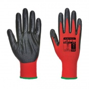 Portwest Nitrile Grip Red and Black Gloves A310R8R