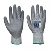 Portwest Level 5 Cut-Resistant PU Coated Gloves A622G7 (Case of 144 Pairs)