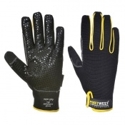 Portwest A730 Supergrip Leather Black Gloves