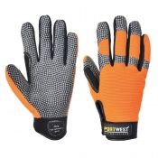 Portwest A735 Leather Comfort Grip Gloves