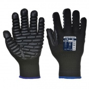Portwest A790 Anti-Vibration Black Gloves