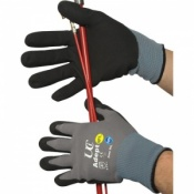 Adept NFT Nitrile Palm Coated Gloves (Case of 120 Pairs)