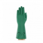 Ansell AlphaTec 39-035 Chemical-Resistant Gauntlet Gloves