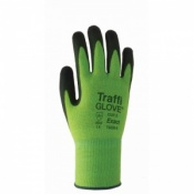 TraffiGlove TG520 Exact Polyurethane Coating Cut Level 5 Safety Gloves