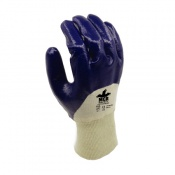MCR Safety GP1051NT2 Cotton Nitrile 3/4 Coated Safety Gloves