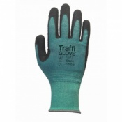 TraffiGlove TG595 Glaze Cohesion XP Coating Cut Level 5 Safety Gloves