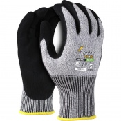 Hantex Sandy Nitrile Grip Cut-Resistant Gloves HX5-SN