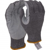 Kutlass Leather Palm-Coated Cut-Resistant Gloves K9C