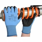 Nitrilon Flex PVC Palm Coated Gloves NCN-Flex