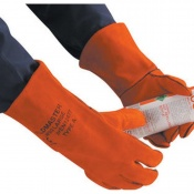 Polyco Weldmaster Welding Gauntlet Gloves (Case of 20 Pairs)