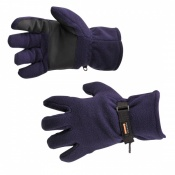 Portwest GL12 Navy Fleece Insulatex Lined Gloves