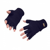 Portwest GL14 Navy Fingerless Knit Insulatex Gloves