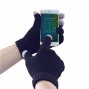 Portwest GL16 Navy Touchscreen Knit Gloves