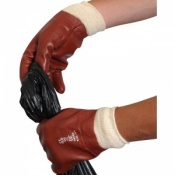 Red PVC Multi-Purpose Gloves R125