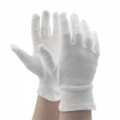Shield GI/NCWO Women's White Cotton Gloves