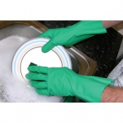 Shield GR01 Flocklined Household Rubber Gloves