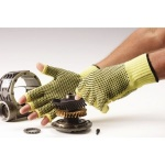 Polyco Touchstone Grip 100% Kevlar Cut Resistant Fingerless Gloves
