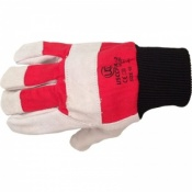 Cotton Chrome Gloves With Red Backing USCCFKL-2