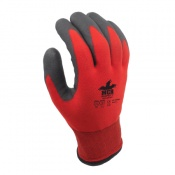MCR Safety WL1048HP1 Winter Lined HPT Palm Coated Safety Gloves
