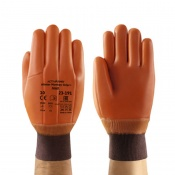 Ansell 23-191 Winter Monkey Grip Thermal-Lined Vinyl-Dipped Work Gloves