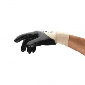 Ansell Edge 48-501 Oil-Resistant Palm Dipped Gloves