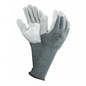 Ansell Vantage 70-766 Leather Palm Grip Gloves