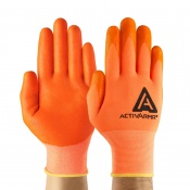Ansell ActivArmr 97-012 Hi-Viz Breathable Work Gloves