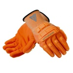 Ansell ActivArmr 97-120 Hi-Viz Kevlar Rugged Work Gloves