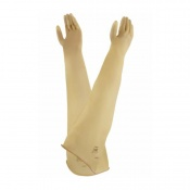 Ansell AlphaTec 55-101 Natural Rubber Latex Ambidextrous Gauntlet Gloves