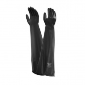 Ansell AlphaTec 55-303 Chemical-Resistant Neoprene Gauntlet Gloves