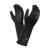 Ansell AlphaTec 38-628 Butyl Viton Chemical-Resistant Gauntlet Gloves