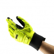 Ansell Edge 48-205 Heavy-Duty Hi-Viz Work Gloves