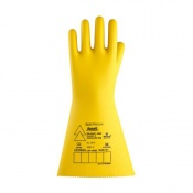 Ansell E018B Electrician Class 2 Black Insulating Rubber Gloves