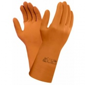 Ansell Extra 87-955 Chemical-Resistant Gauntlet Gloves