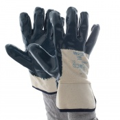 Ansell Hycron 27-607 3/4-Dipped Heavy-Duty Work Gloves