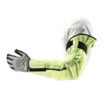 Ansell HyFlex 11-202 Cut-Resistant Hi-Vis Sleeve with Velcro Fixing System