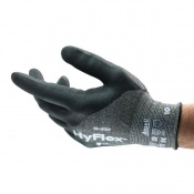 Ansell HyFlex 11-537 Cut-Resistant 3/4 Dipped Grip Work Gloves