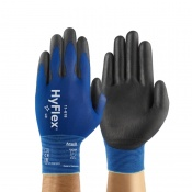 Ansell HyFlex 11-618 Light PU-Coated Gloves
