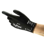 Ansell HyFlex 48-101 Palm-Coated Light Application Work Gloves
