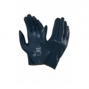 Ansell Hynit 32-125 Slip-On Perforated Nitrile Work Gloves
