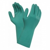 Ansell AlphaTec 79-340 Chemical-Resistant Nitrile Gauntlet Gloves