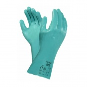 Ansell Sol-Knit 39-124 Nitrile Chemical-Resistant Gauntlets