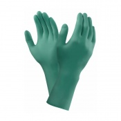Ansell TouchNTuff 93-300 Disposable Long-Cuffed Nitrile Gloves