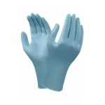 Ansell TouchNTuff 92-665 Disposable Powder-Free Nitrile Gloves