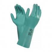 Ansell VersaTouch 37-200 Green Nitrile Gauntlet Gloves