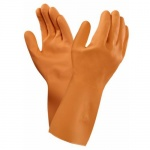 Ansell VersaTouch 87-370 Long-Cuffed Latex Gauntlet Gloves