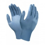 Ansell VersaTouch 92-200 Ultra-Thin Blue Disposable Nitrile Gloves