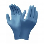 Ansell VersaTouch 92-465 Dark Blue Disposable Nitrile Gloves