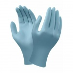 Ansell VersaTouch 92-471 Light Blue Disposable Nitrile Gloves